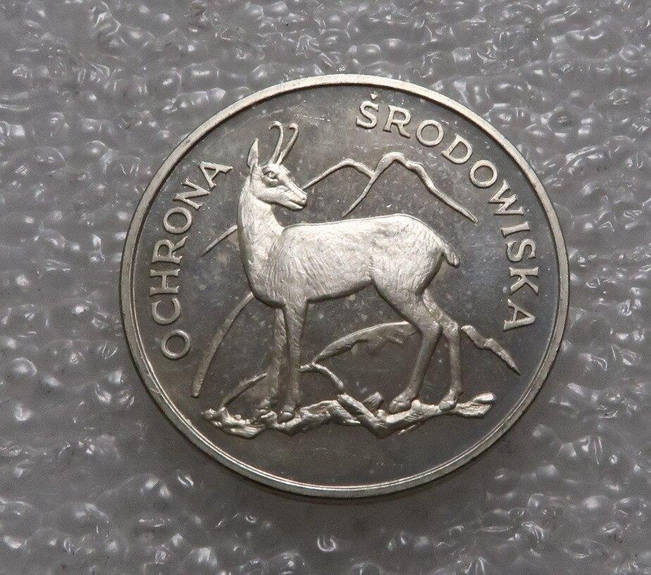 Poland 1979 100 Zloty Antelope Real Rare Silver Original Coin Collection
