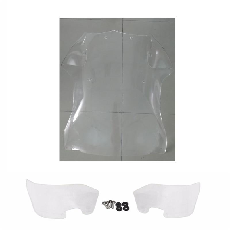 R1200 GS Windshield WindScreen Wind Deflector Spoiler Side Panel For BMW R 1200 GS Adventure 2005 - 2012 R1200GS ADV 05-12