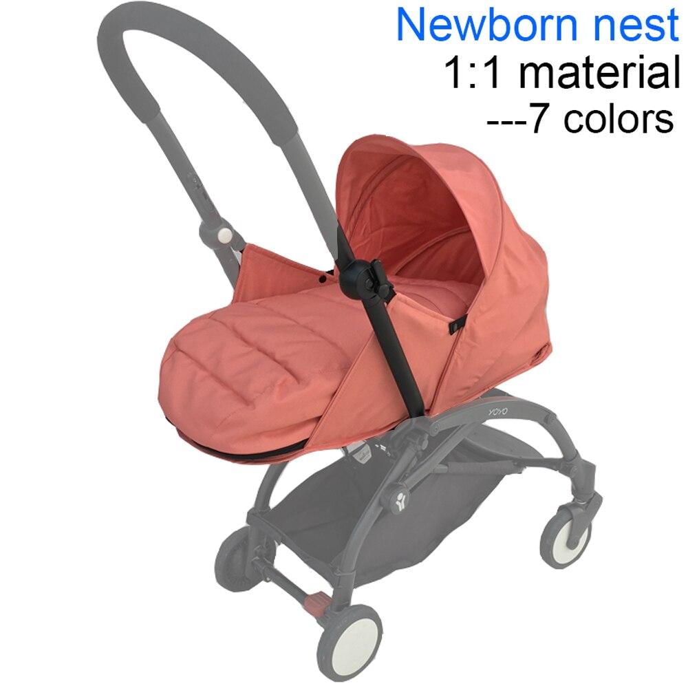 إكسسوارات عربة الأطفال ، سلة نوم Babyzen Yoyo Yoya لحديثي الولادة