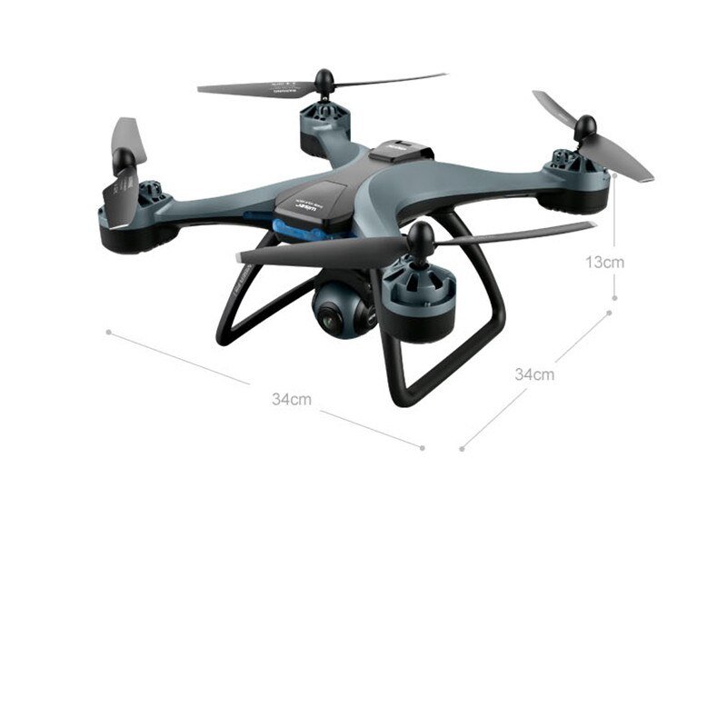 2021 New Drone 6K HD dual camera WIFI FPV 2.4G / 5.8G GPS keeping arm wide angle-height mode type foldable RC quadcopter Toy enlarge