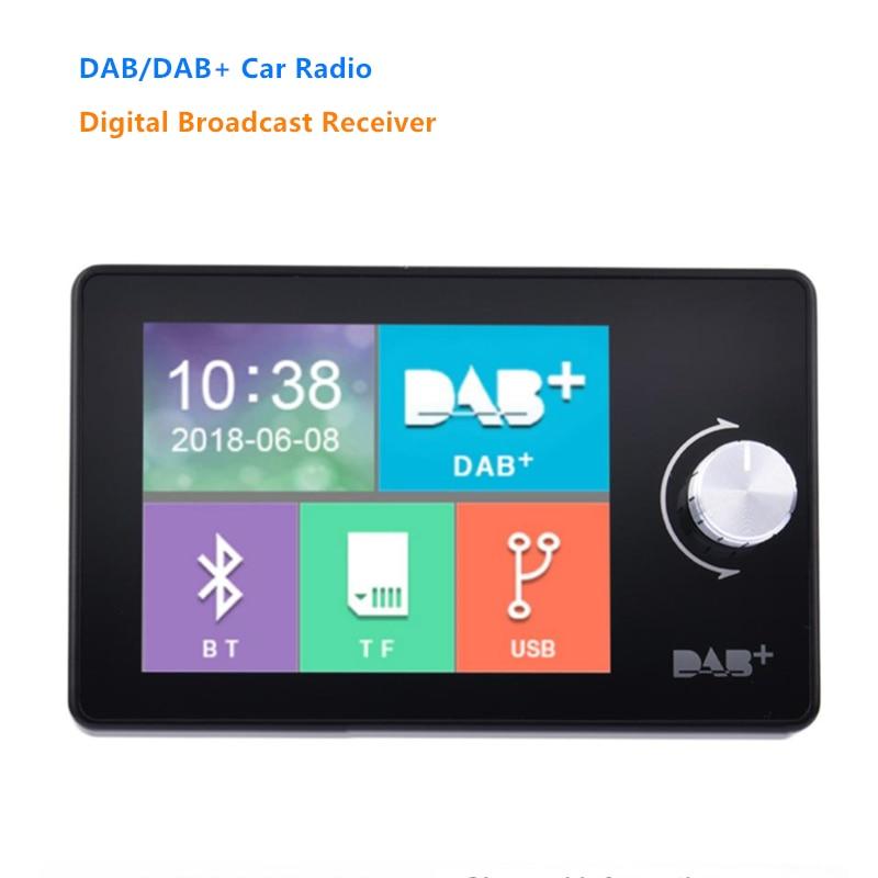 DAB +-receptor de Radio Digital para coche, reproductor de música con pantalla...