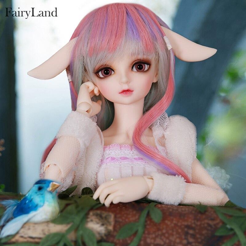 BJD Dolls Fairyland Minifee Rin suit fullset msd luts Fairyline 1/4 model  girls boys eyes toys resin rabbit Friends Surprise