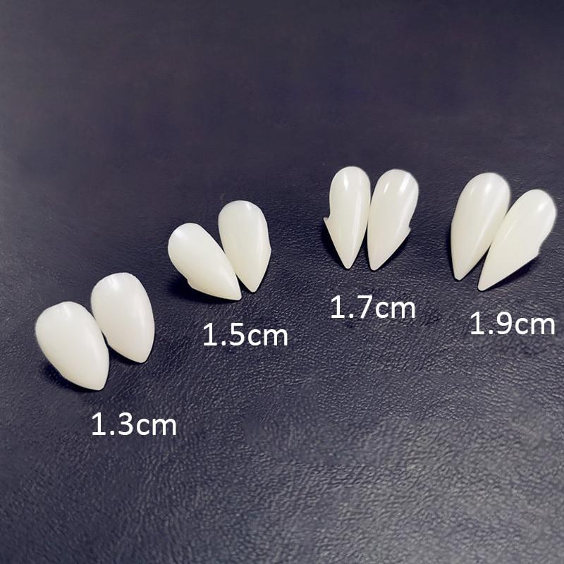 Fake Vampire Fangs With Glue Halloween Tooth Repair Teeth And Gaps False Teeth Solid Glue Denture Adhesive Teeth Fangs With Glue vampire teeth with artificial blood gel