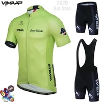 2021 team strava cycling jersey summer set men clothing road bike tops suit bicycle bib short mtb ropa ciclismo maillot hombre