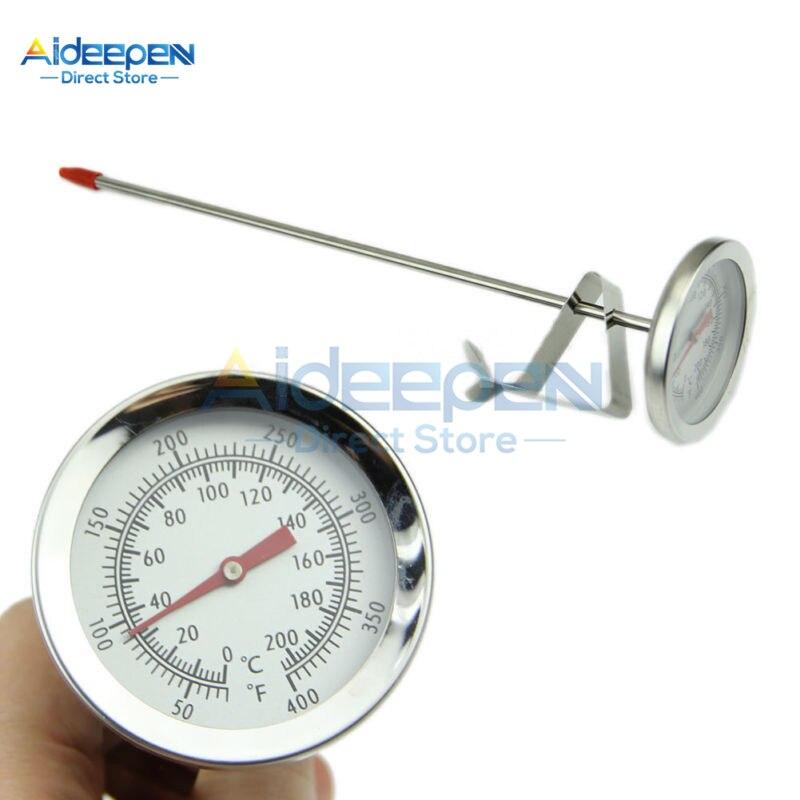Termómetro de acero inoxidable, termómetro de cocina para alimentos y carne con sonda de 0 a 200 grados centígrados para herramientas de barbacoa y horno