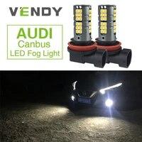 2x h8 h11 auto canbus led fog lights bulbs for audi rs4 sq5 a3 a4 a6 a5 b6 b8 c6 c7 q5 q7 s3 s4 s6 s8 tt