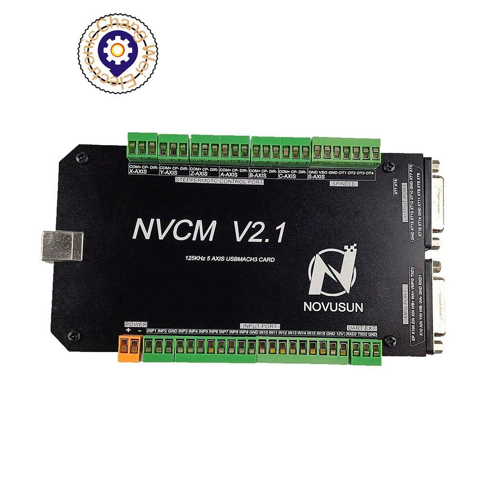 وحدة تحكم الحركة CNC NVCM ، واجهة USB 3/4/5 /6 محاور ، بطاقة التحكم في الحركة لمحرك متدرج ، النقش باستخدام الحاسب الآلي