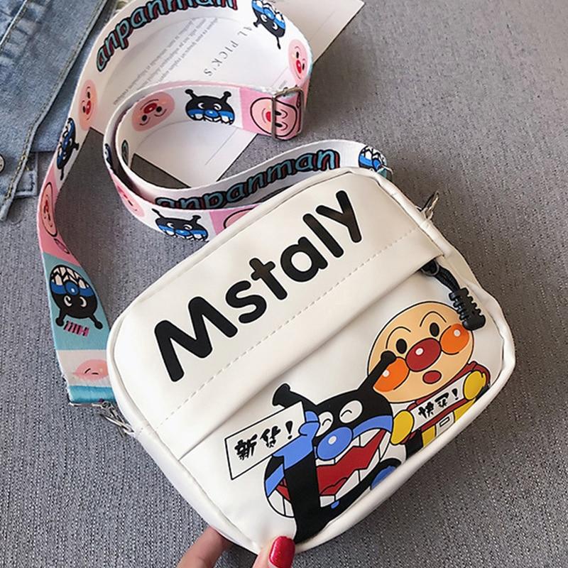 Bolso de una bandolera de hombro para mujer, bolso de compras para teléfono móvil estilo Harajuku