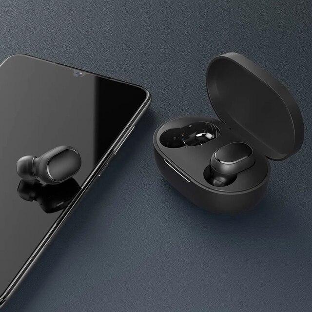 New Xiaomi Redmi AirDots 2 Wireless Bluetooth 5.0 redmi airdots2 Mi Ture Wireless Earbuds In-Ear stereo bass NOT redmi airdots s 2