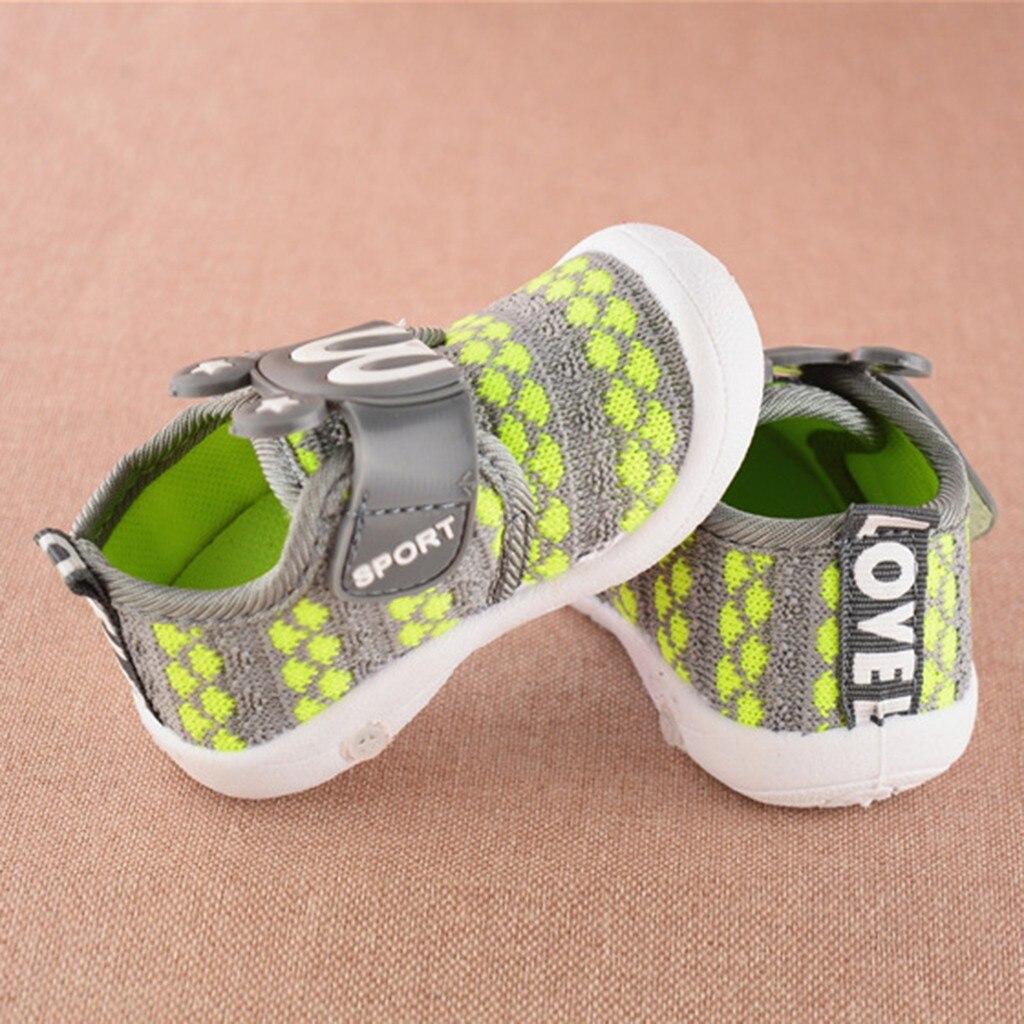 Criança recém-nascidos primeiros caminhantes crianças sapatos de bebê dos desenhos animados estrela orelhas de coelho squeaky novo único sapatos macio anti-deslizamento sneaker