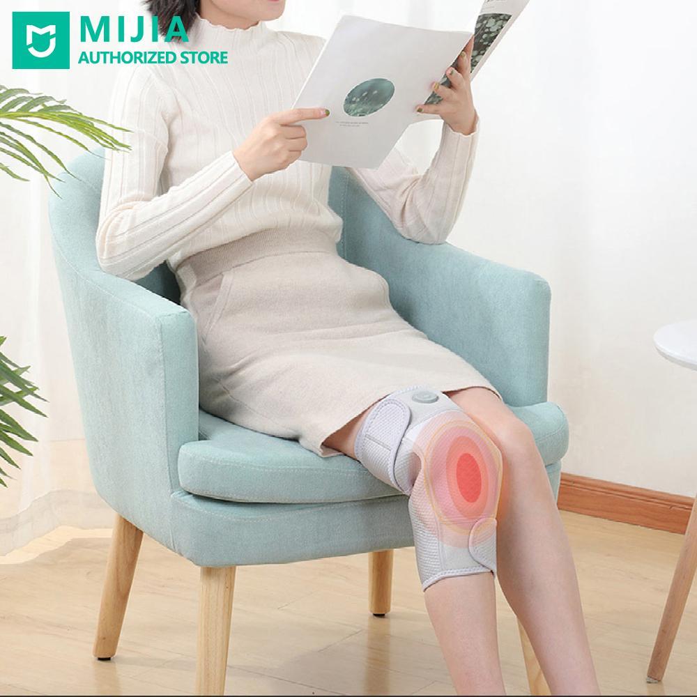 Xiaomi pma joelho almofada 5v infravermelho grafeno aquecimento protetor joelho esportes alívio da dor perna mangas 1pcs com cabo usb para adultos