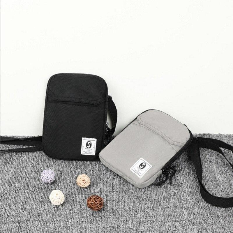 Nuevo bolso cuadrado para hombre, bolsos sencillos, bolso Casual para hombro, bolso cruzado pequeño Unisex, bolsos de mensajero para mujer, recién llegados