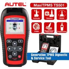 Autel MaxiTPMS TS501 TPMS активация MX Sensor Программирование OBDII диагностический инструмент лучше, чем TS401