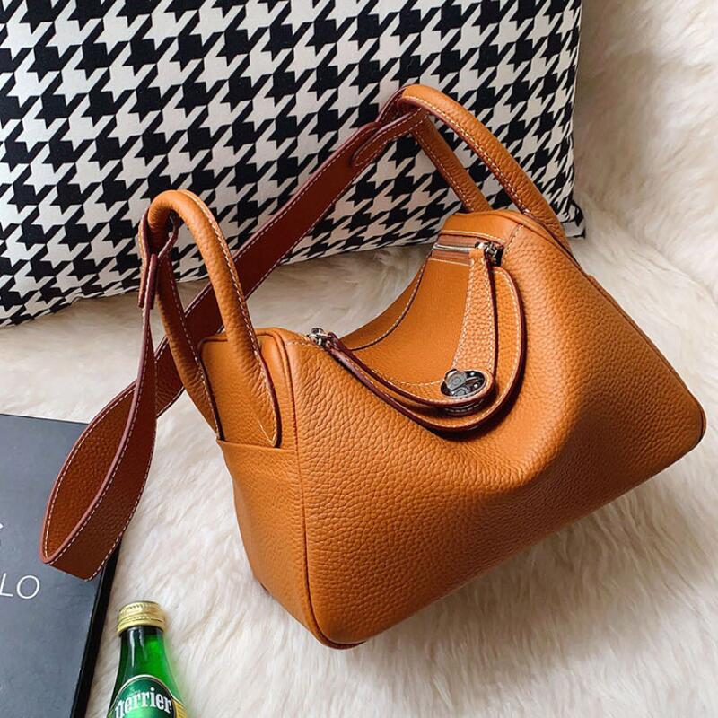CHSANATO عالية الجودة حمل حقيبة الإناث جلد طبيعي حقيبة يد فاخرة حقيبة نسائية صغيرة مصمم العلامة التجارية الشهيرة محفظة بولسا الأنثوية