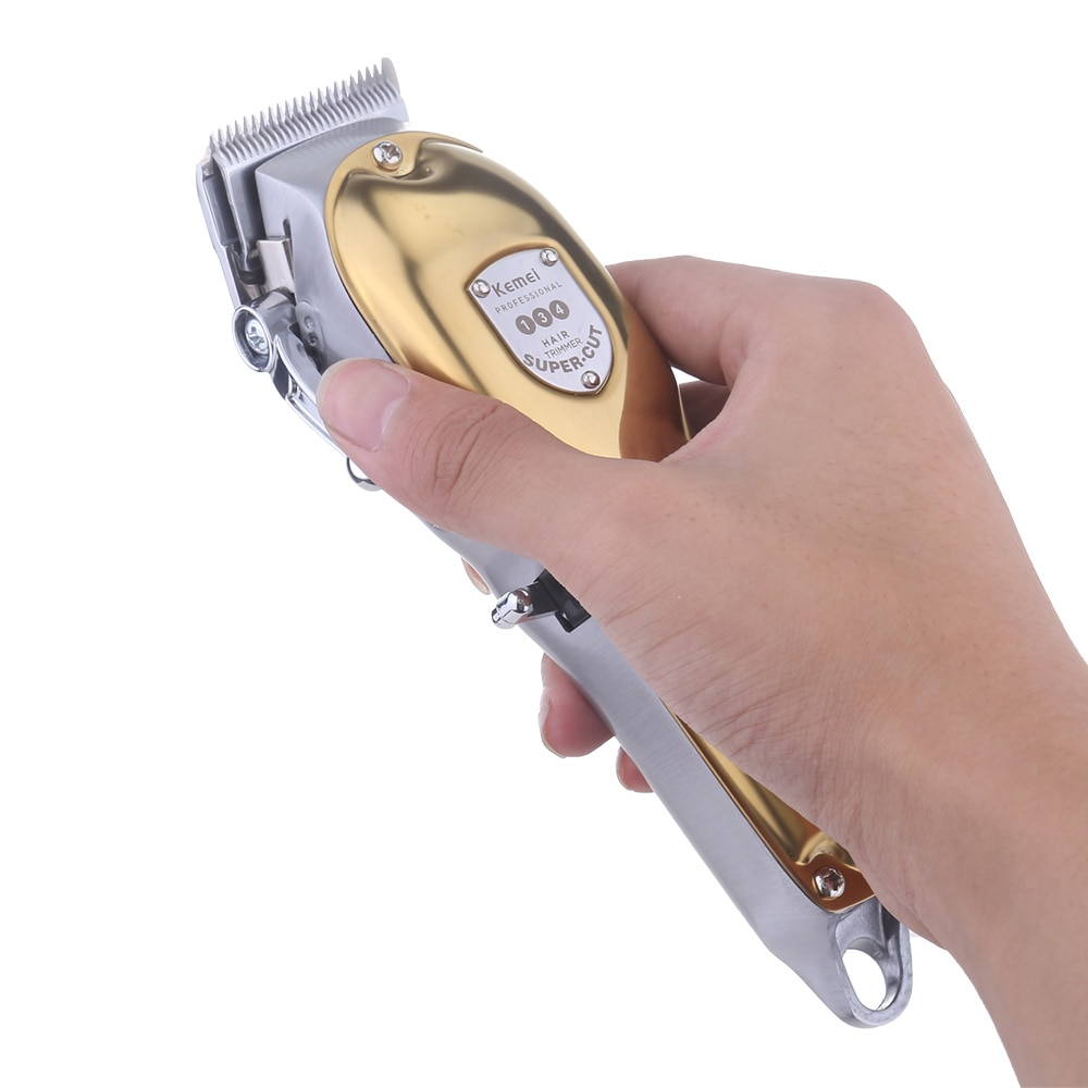 Kemei 134 10W Powerful Electric Hair Clippers for Men Barber Trimmer Cordless Cutter Haircut Machine Grooming Kit All Metal Body enlarge