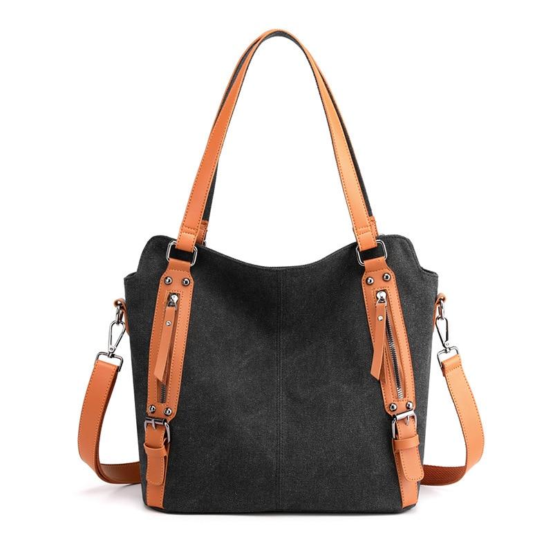 2021 Tote Bags for Women Canvas Handbags Travel Vintage Crossbody Shoulder Bags