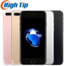Оригинальный разблокированный Apple IPhone 7 Plus, 5,5 дюйма, 12 МП, сканер отпечатка пальца, LTE, 3 Гб ОЗУ, 32 ГБ/128 ГБ/256 Гб ПЗУ, мобильный телефон, сотовый телефон с четырехъядерным процессором