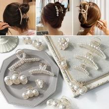 Hot Sale Hairpins Party Bath Beautiful Fashion Barrettes Pearl Hairgrip Hair Claws Gifts High Qualit