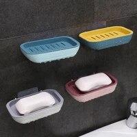 Egouttoir mural pour savon  etagere de rangement pour salle de bain  porte-savon de cuisine  boite suspendue