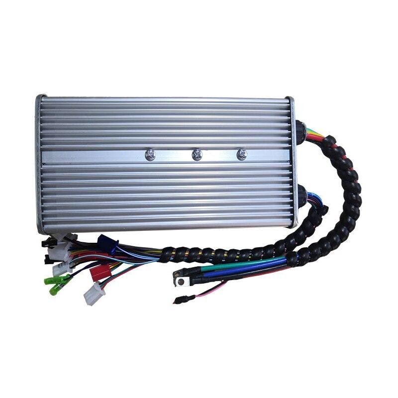 48v 60v 72v 96v 350w-motorista do controlador da onda do seno de 4000w para o motor sem escova de bldcm