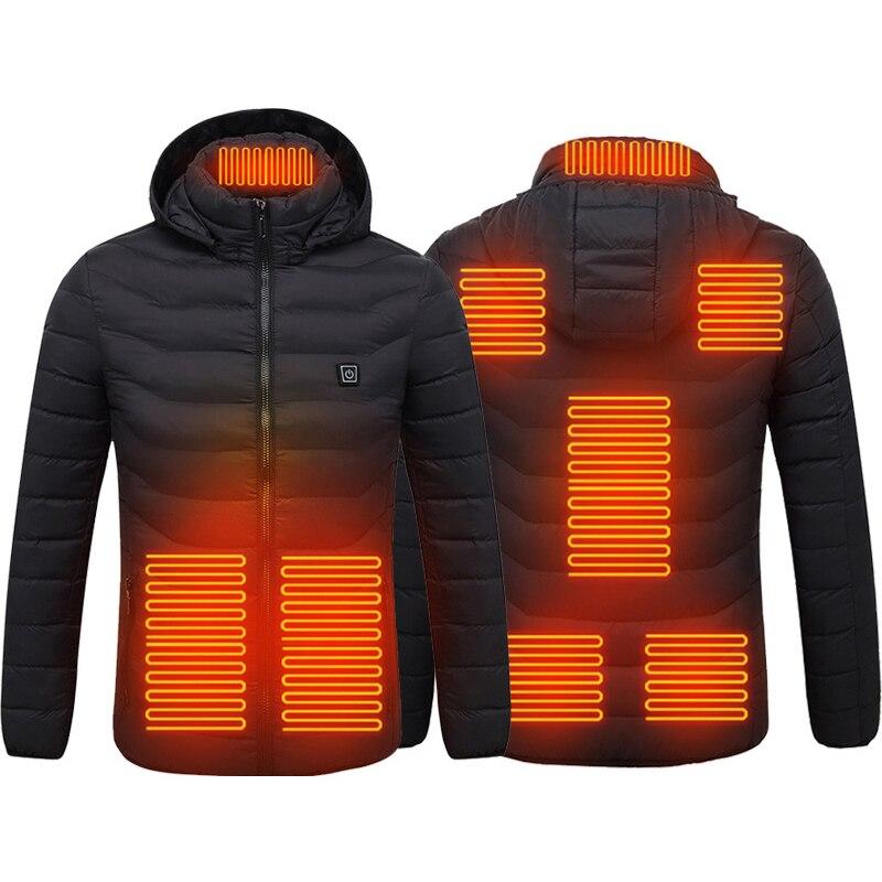 Jaquetas de Aquecimento para Mulheres dos Homens Novo Inverno Aquecido Quente Roupas Usb Aquecedor Térmico Algodão Caminhadas Caça Cabolsas 2022