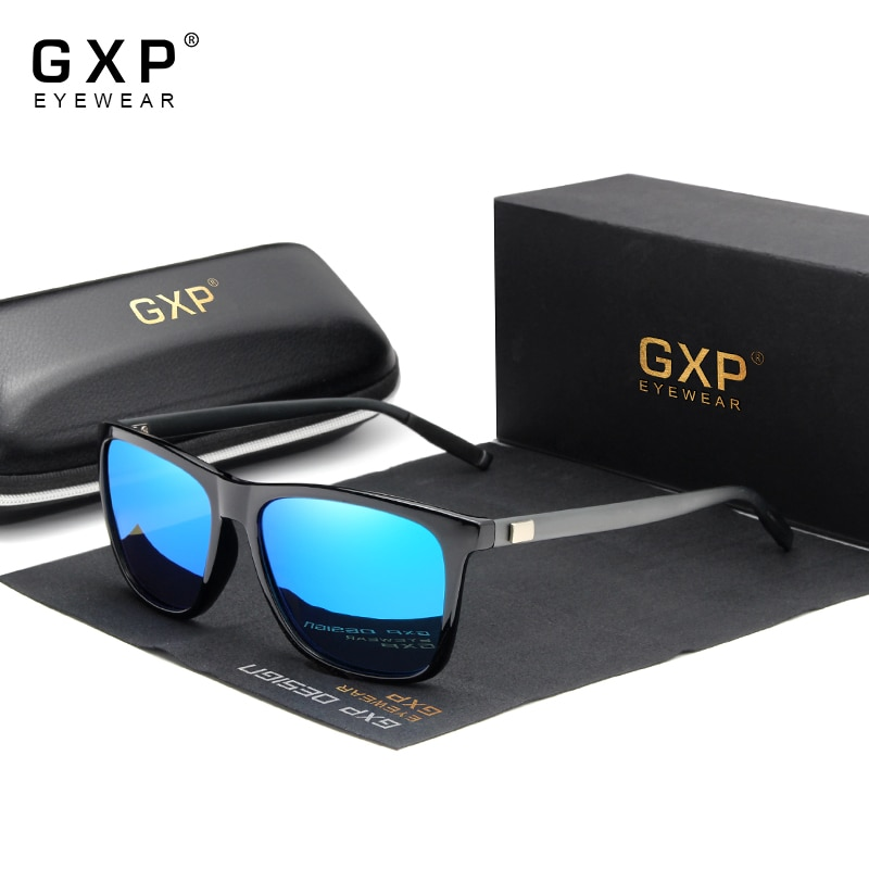 GXP 2020 Polarized Aluminum Frame Sunglasses UV400 Mirror Men/Women Polarized Mirror Sunglasses  Accessories