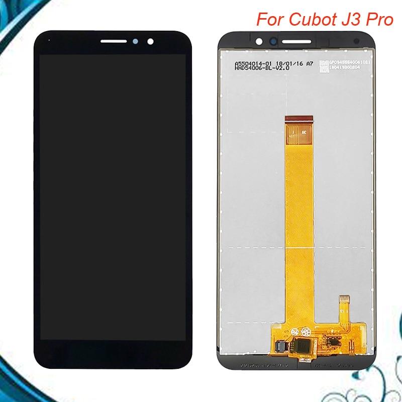 5,5 pulgadas para Cubot J3 Pro pantalla LCD con pantalla táctil digitalizador montaje para Cubot J3 Pro accesorios para teléfono móvil