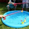 Duck Fishing Game Pond Pool with 5 Ducklings Set Kid Educational Preschool Toy M09