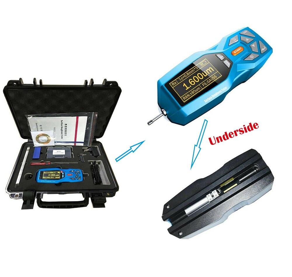 YRT200, probador de rugosidad de superficie, perfilómetro de gran capacidad, memoria de datos, 100 grupos, probador de rugosidad de superficie almacenada