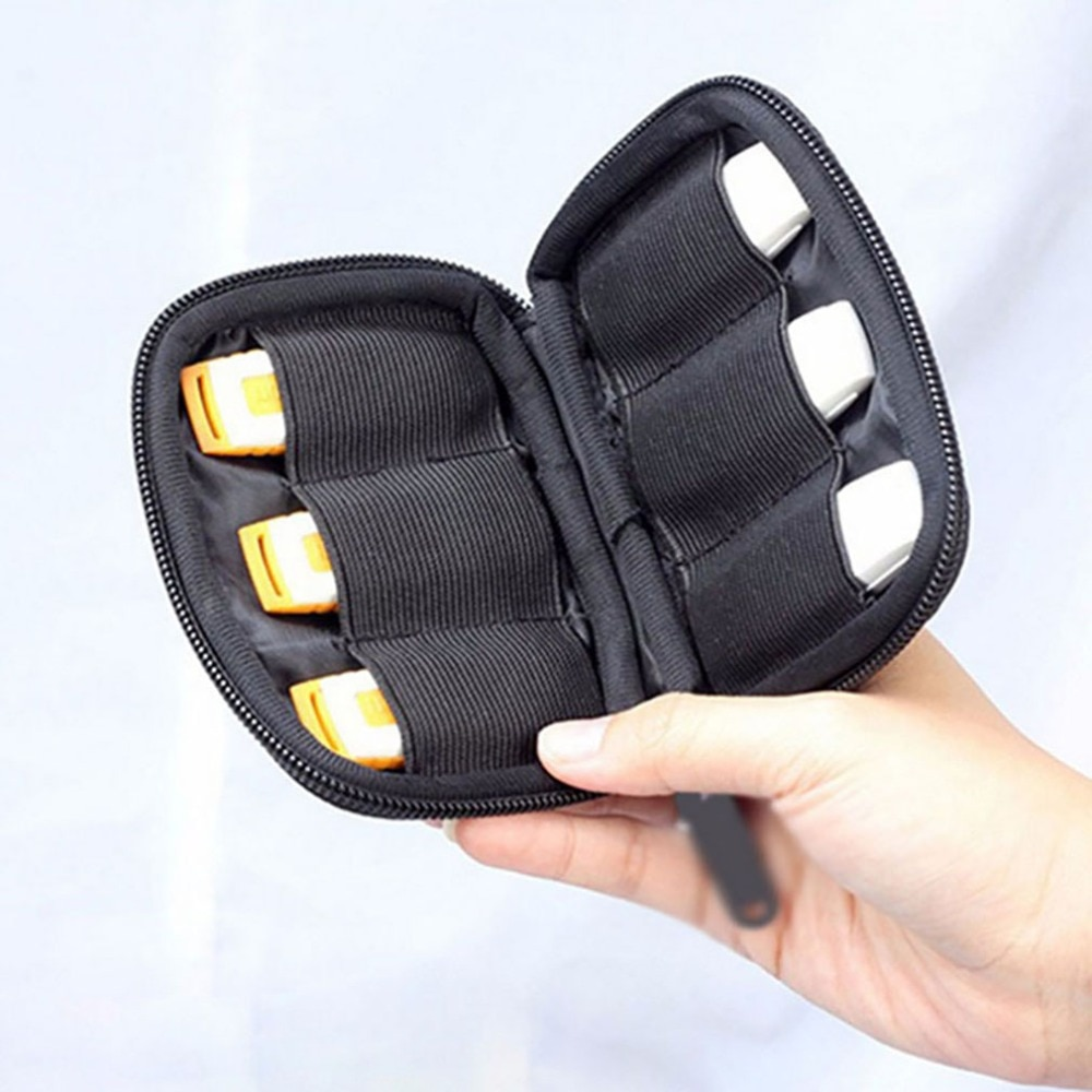 High Quality Multifunction USB Flash Drives Organizer Case Storage Bag Protection Holder For Travel