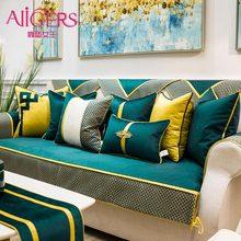 Avigers Luxus Patchwork Samt Teal Grün Kissen Abdeckungen Moderne Hause Dekorative Wurf Kissen Fällen für Couch Schlafzimmer