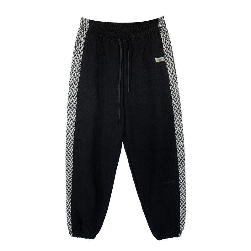 Новые мужские свободные штаны на осень и зиму, модные повседневные штаны, Корейская версия, штаны Wei, трендовые штаны