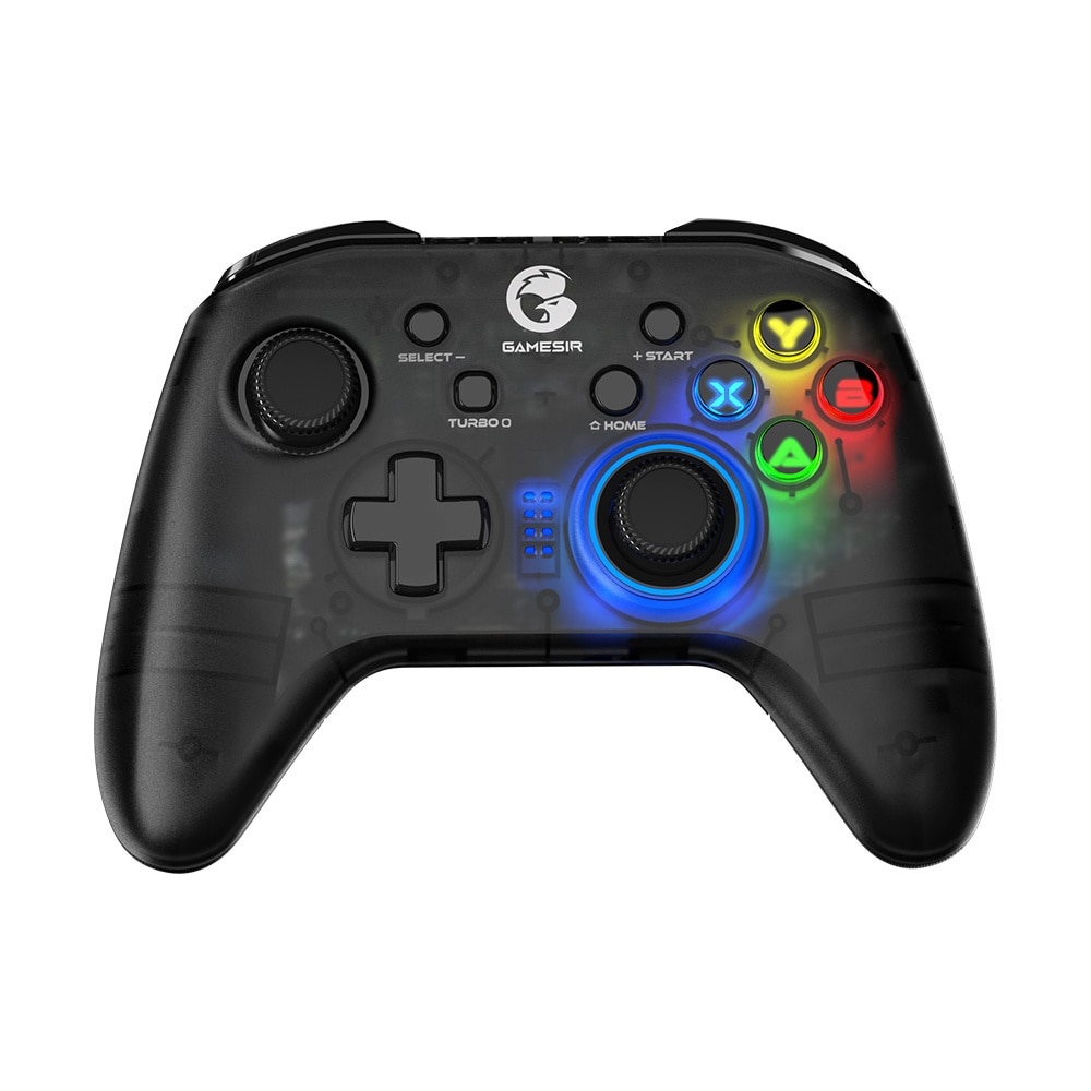 T4 Pro 2.4GHz Wireless Mobile Controller Bluetooth Gamepad With 6-axisGyro For NintendoSwitch / Android / IPhone / PC Ps4