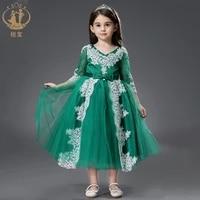 princess flower girl wedding dresses backless child dress piano costume birthday catwalk kids dresses for girls christmas dress