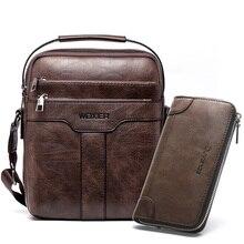PU Leder Männliche Umhängetasche Mode Braun Umhängetasche für Männer Große Mode Männer Schulter Tasche Handtasche Zipper Klappe für männlichen