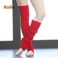 girls pointe dance sock women pointe latin dancing yoga sock dance accessory section knitting knee autumn winter ballet stocking