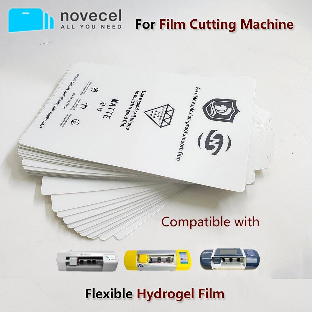 ملصقات فيلم هيدروجيل مرنة ، لأجهزة iPhone و Samsung ، متوافقة مع Fonlyu T438 F140 F150 ، 50 قطعة