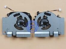 Novo cpu gpu cooler fan/dissipador de calor para xiao mi 15.6 jogo gtx 1050ti 4g edição EG75070S1-C430-S9A EG75070S1-C440-S9A radiador