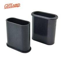 Tubo oval da fase do orador do tubo do guia de ghxamp 37mm * 16mm apropriado para 2.5-4 pces plásticos novos do abs dos alto-falantes da polegada 2