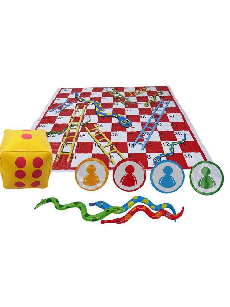 Детская настольная игра, настольная игра, большая интерактивная игра для родителей и детей, змея и лестница, веселая настольная игра, интера...