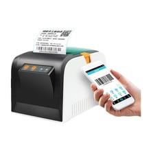WERESE 80mm code à barres imprimante thermique autocollant étiquette imprimante au détail pos reçu imprimante USB mini téléphone portable bluetooth imprimante