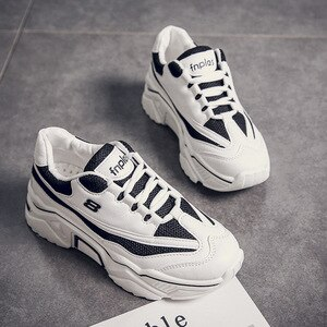2020 Women Sneakers Vulcanize Shoes New Female Platform Thick Sole Running Casual Shoe Woman Sport Shoes Women Zapatos De Mujer