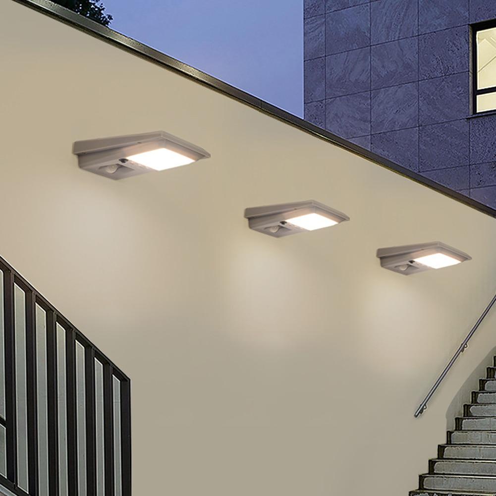 COB LED Solar Light Outdoor Solar Lamp PIR Motion Sensor Wall Light Waterproof Solar Powered Sunlight For Garden Decoration