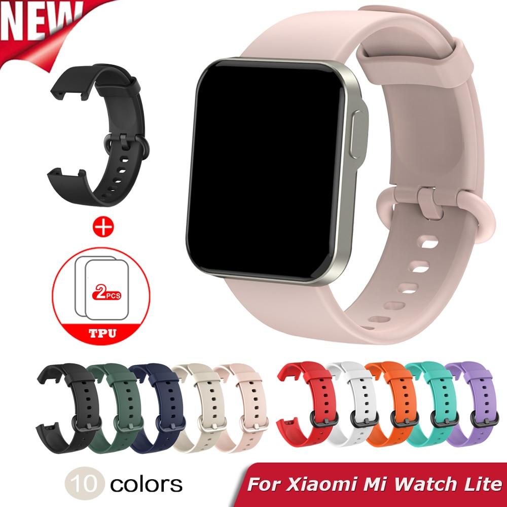 Replacement Strap For XiaoMi Mi Watch Lite Silicone Watchband Smart Bracelet