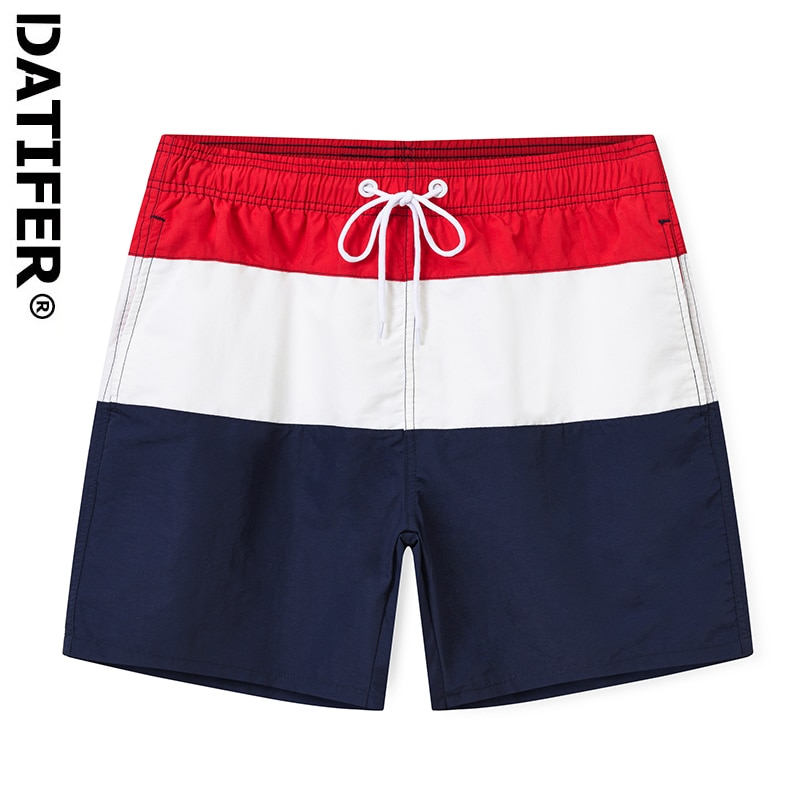 New Quick Dry Mens Swim Shorts Summer Mens Board Shorts Surf Swimwear Beach Short Gym Short With Brief Mesh Lining Liner ES6C