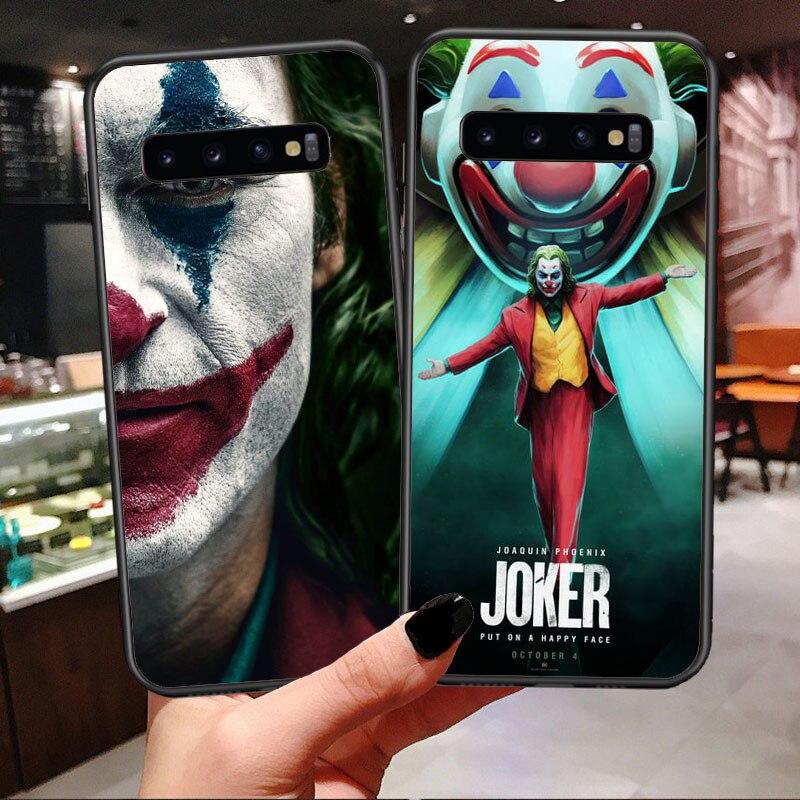 2019 ужасная пленка Джокер Хоакин Феникс Мягкий силиконовый чехол для телефона для samsung galaxy S7 Edge S8 S9 Plus S10 Plus Note 9 S10 Lite