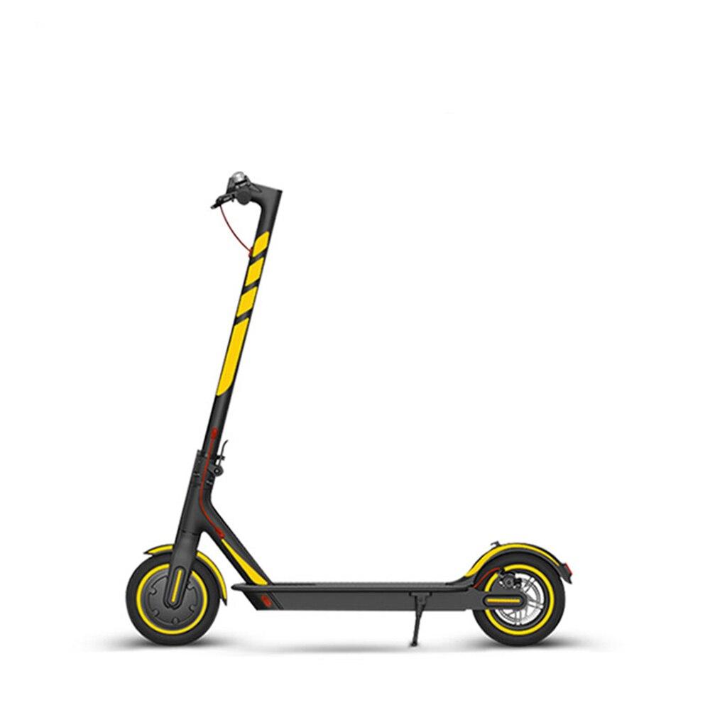Adesivos reflexivos para ninebot es série scooter elétrico à prova dwaterproof água noite ciclismo aviso adesivos para xiaomi max g30 m365 pro