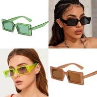 2021 fashion square sunglasses women designer luxury menwomen cat eye sun glasses classic vintage uv400 outdoor sunglasses