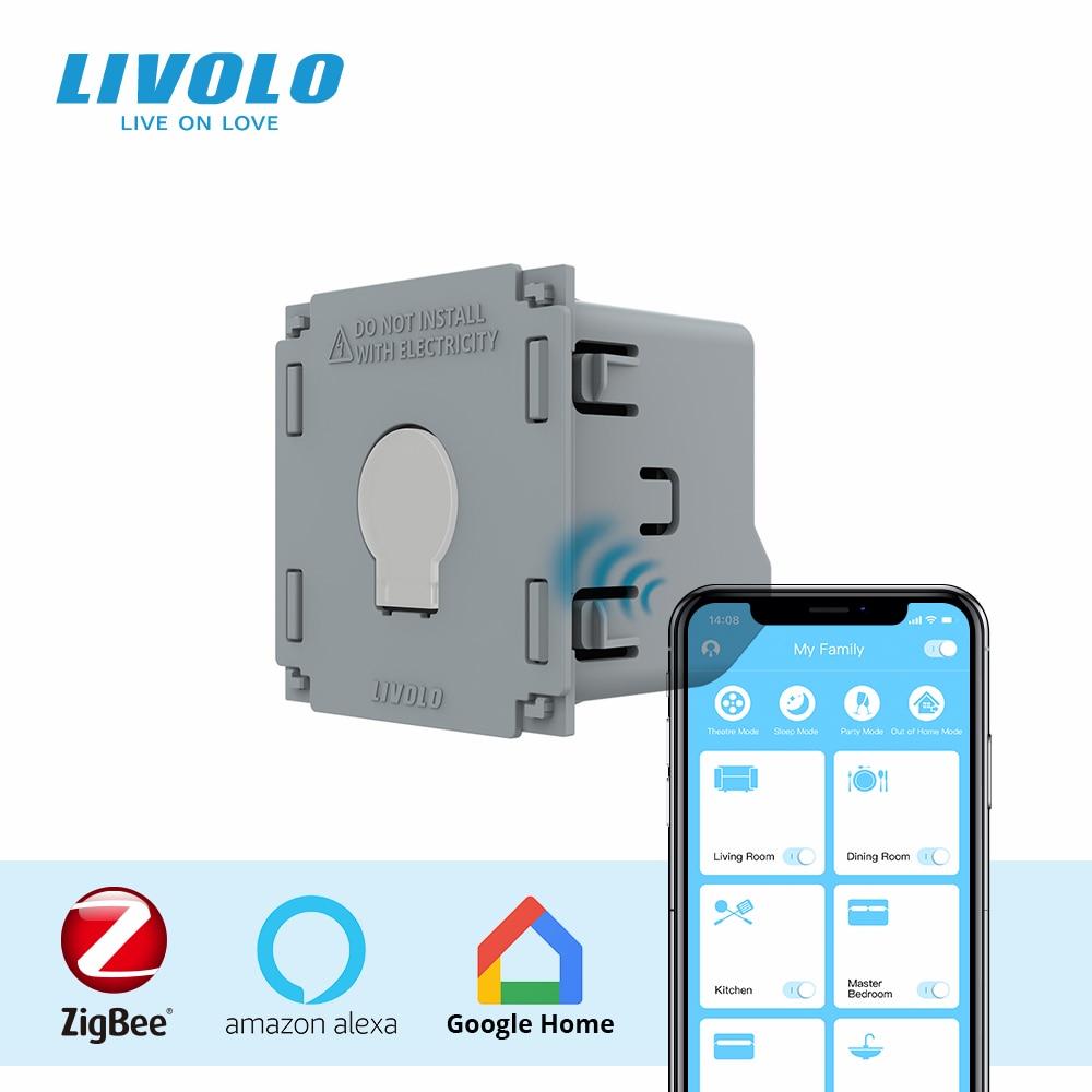 LIVOLO قاعدة من شاشة تعمل باللمس زيجبي التبديل ، لتقوم بها بنفسك 1 طريقة الملحقات التبديل ، دون لوحة ولوحة ، لاستبدال ، لتقوم بها بنفسك المنتجات ...