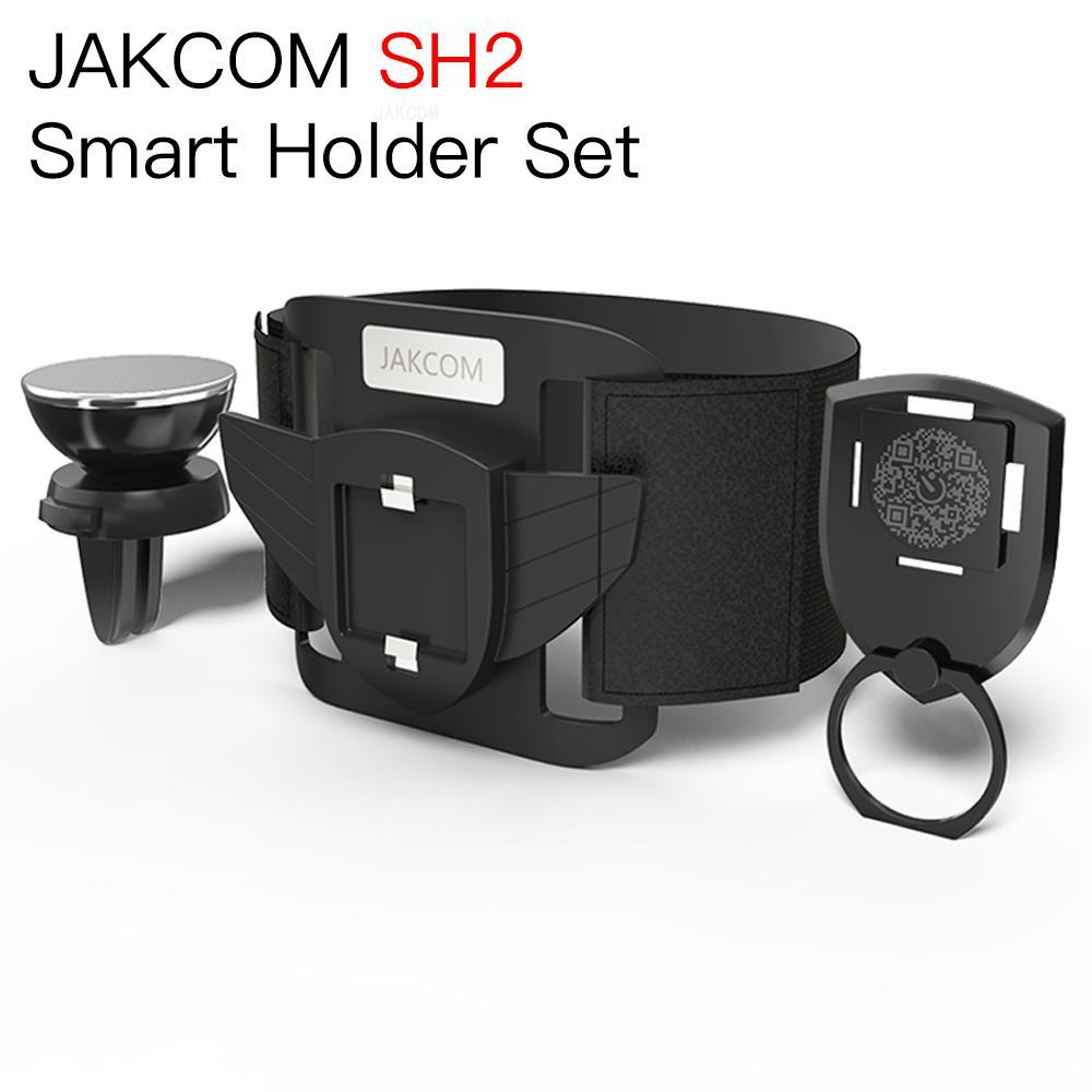 JAKCOM SH2 conjunto de soporte inteligente nuevo producto como escritorio teléfono soporte para e20 celular reloj para coche brazalete 11 pro canaleta cable adhesiva